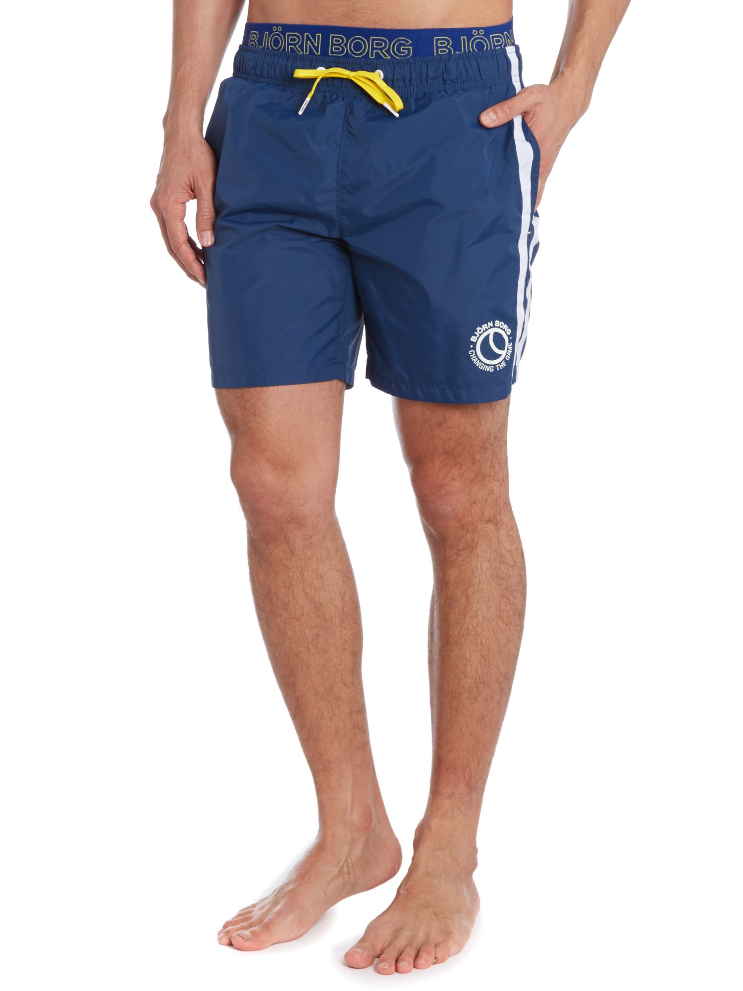 Classic long swim short