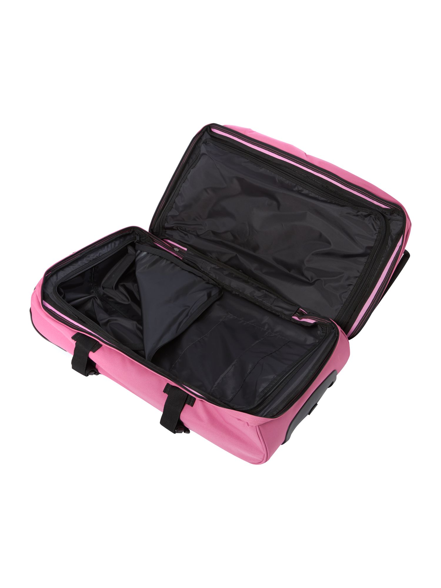 Transvers pink large trolley duffle