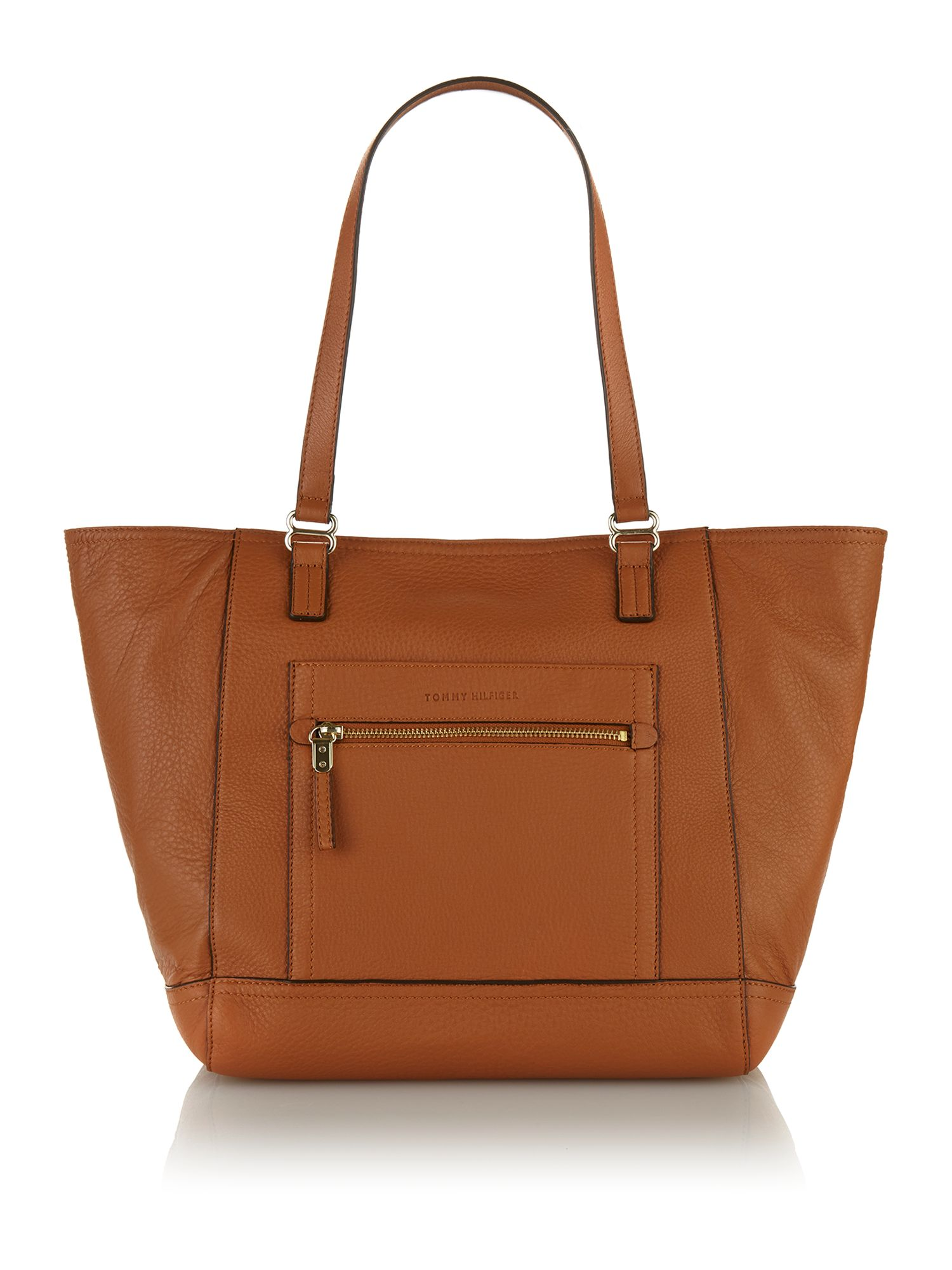 Tan medium shoulder bag