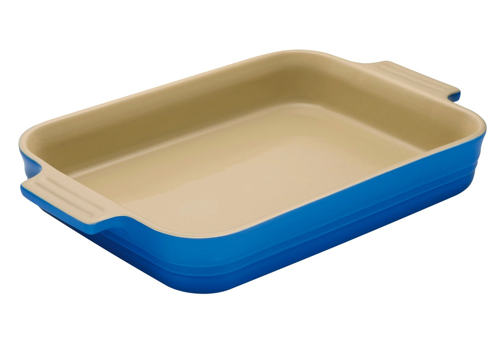32cm Rectangular Dish Marseille Blue