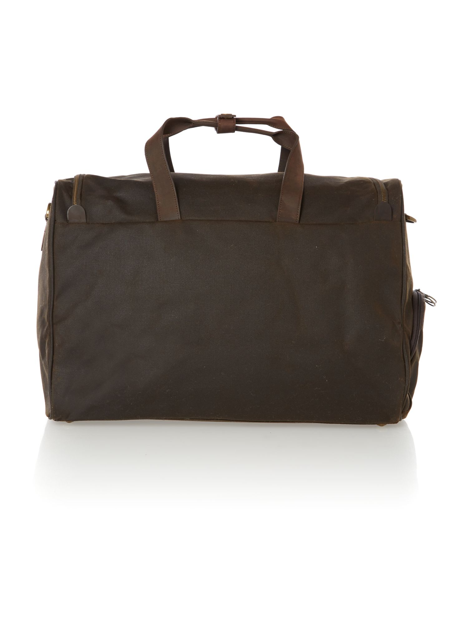 Field navy duffle bag