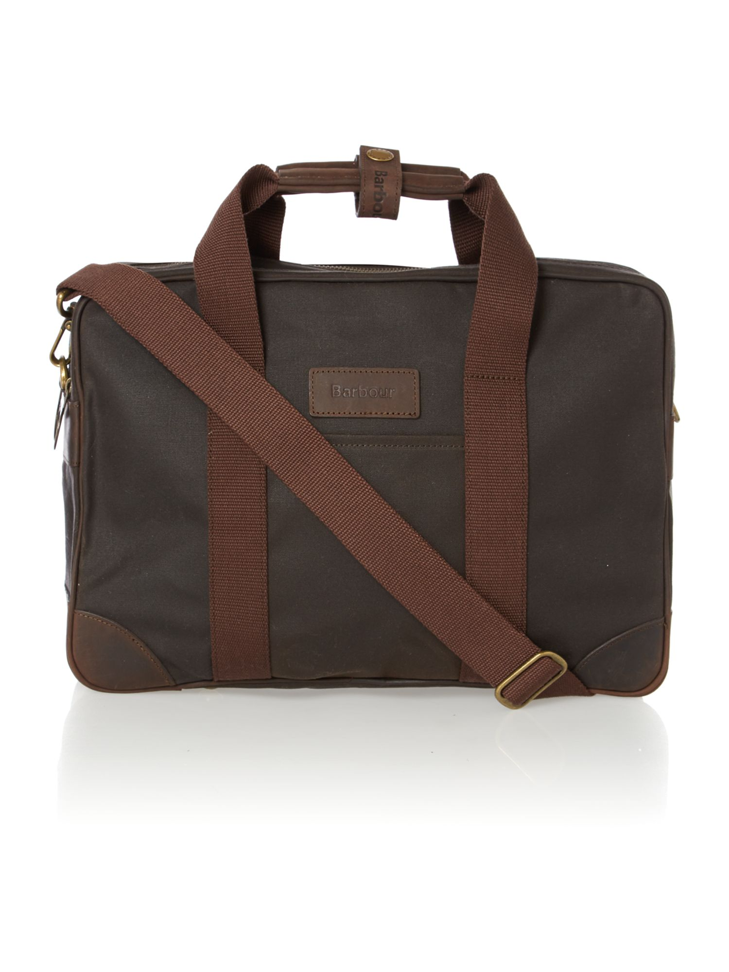 Leebord olive laptop bag