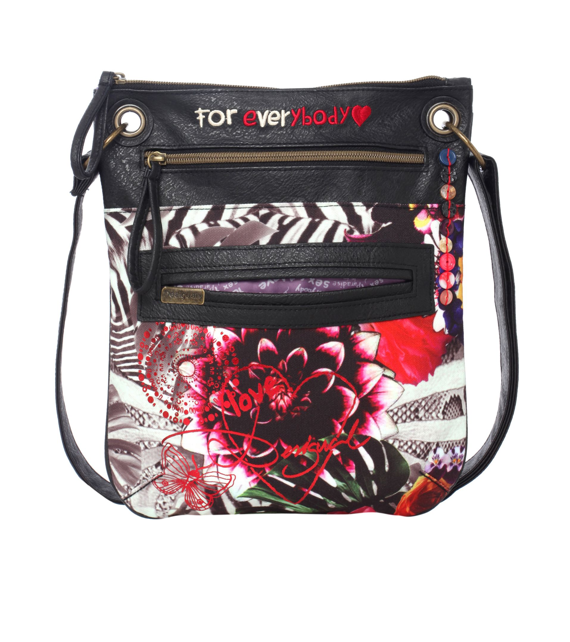Bandolera jungle night bag