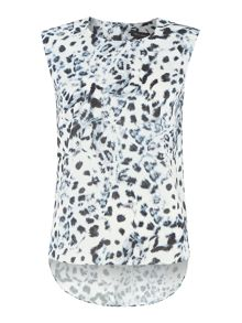 Printed Leopard Shell