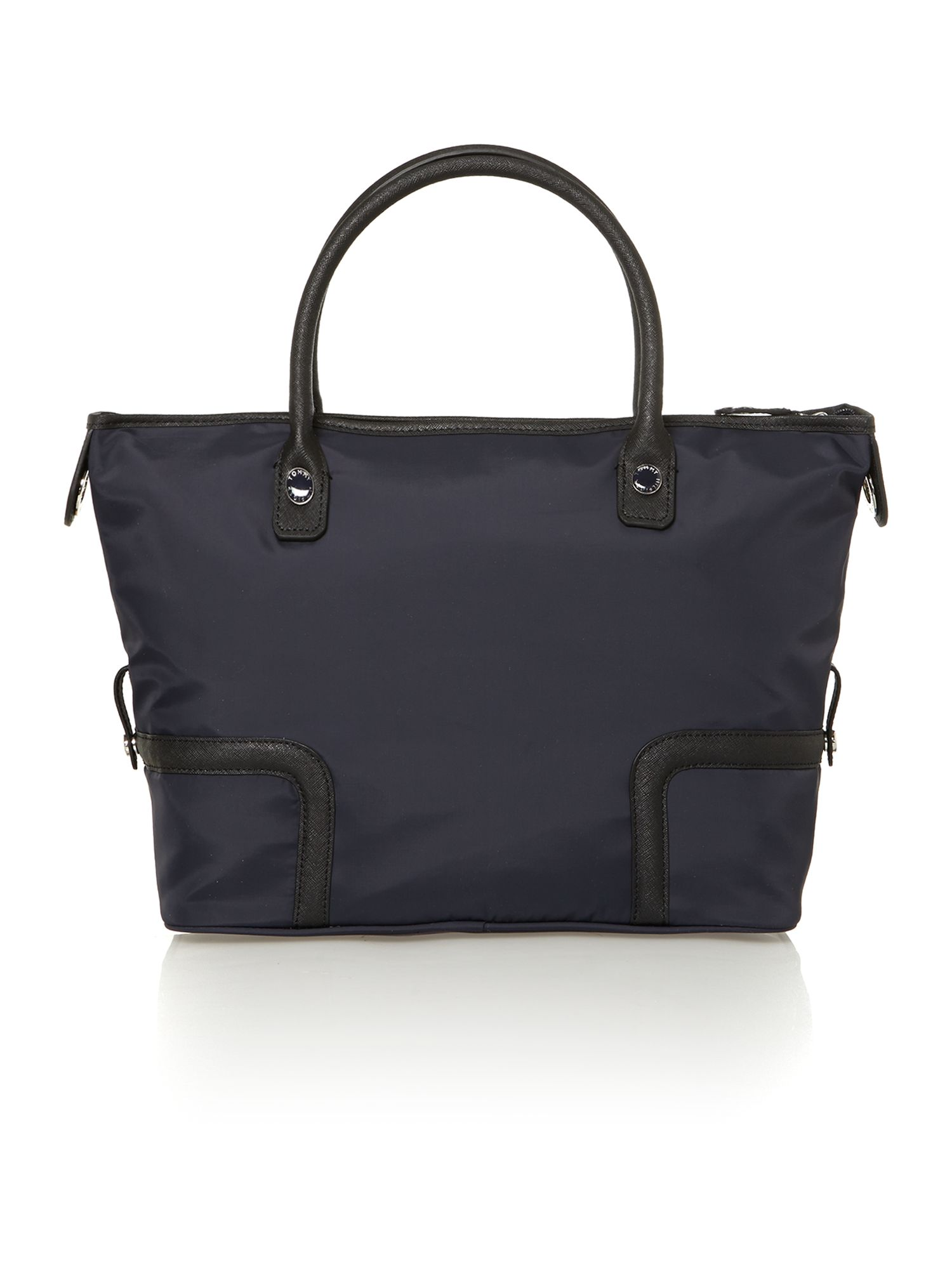 Navy medium tote bag