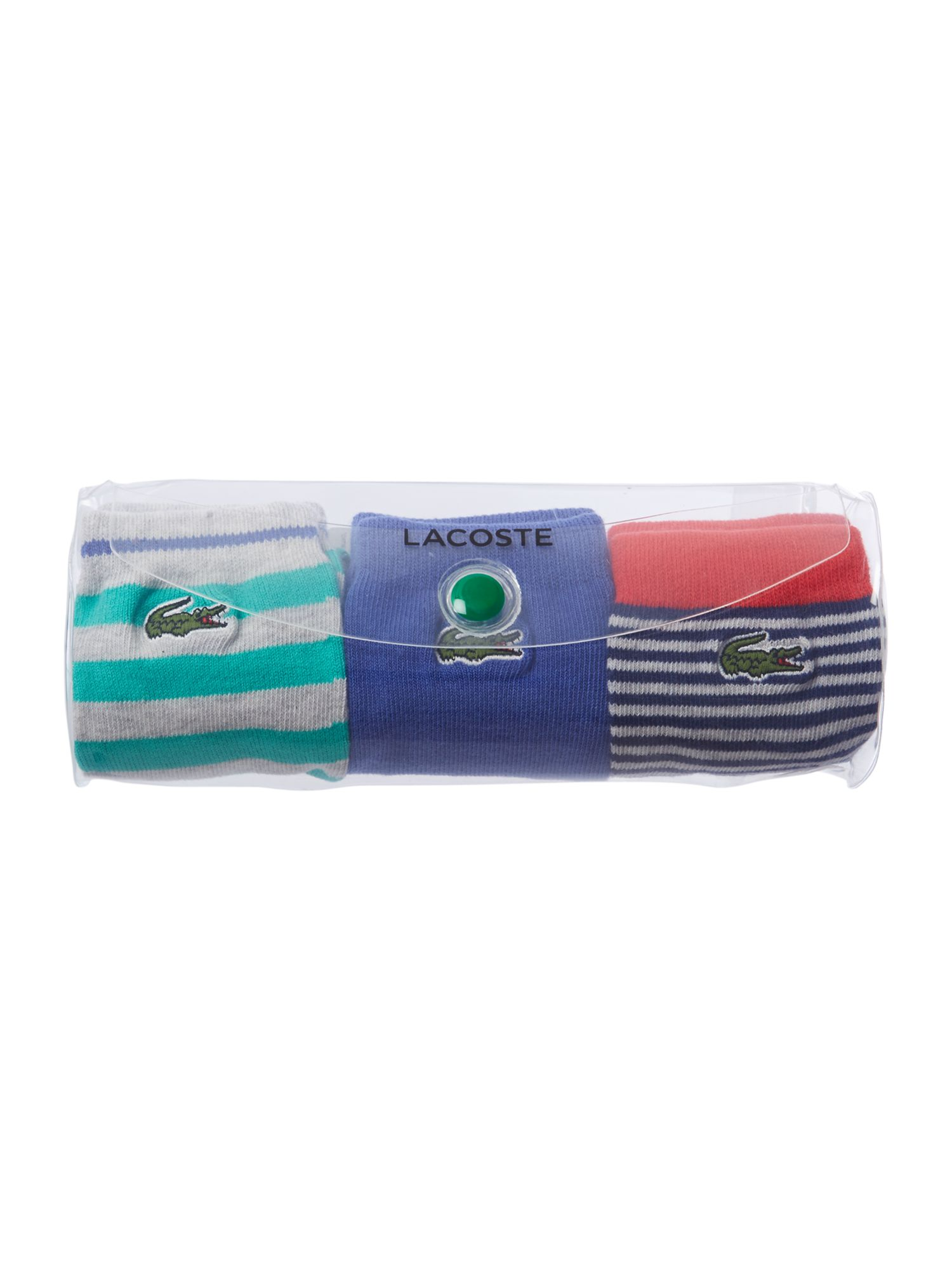 Boys 3 pack sock pouch