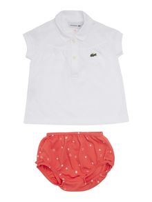 Baby polo shirt and croc gift case