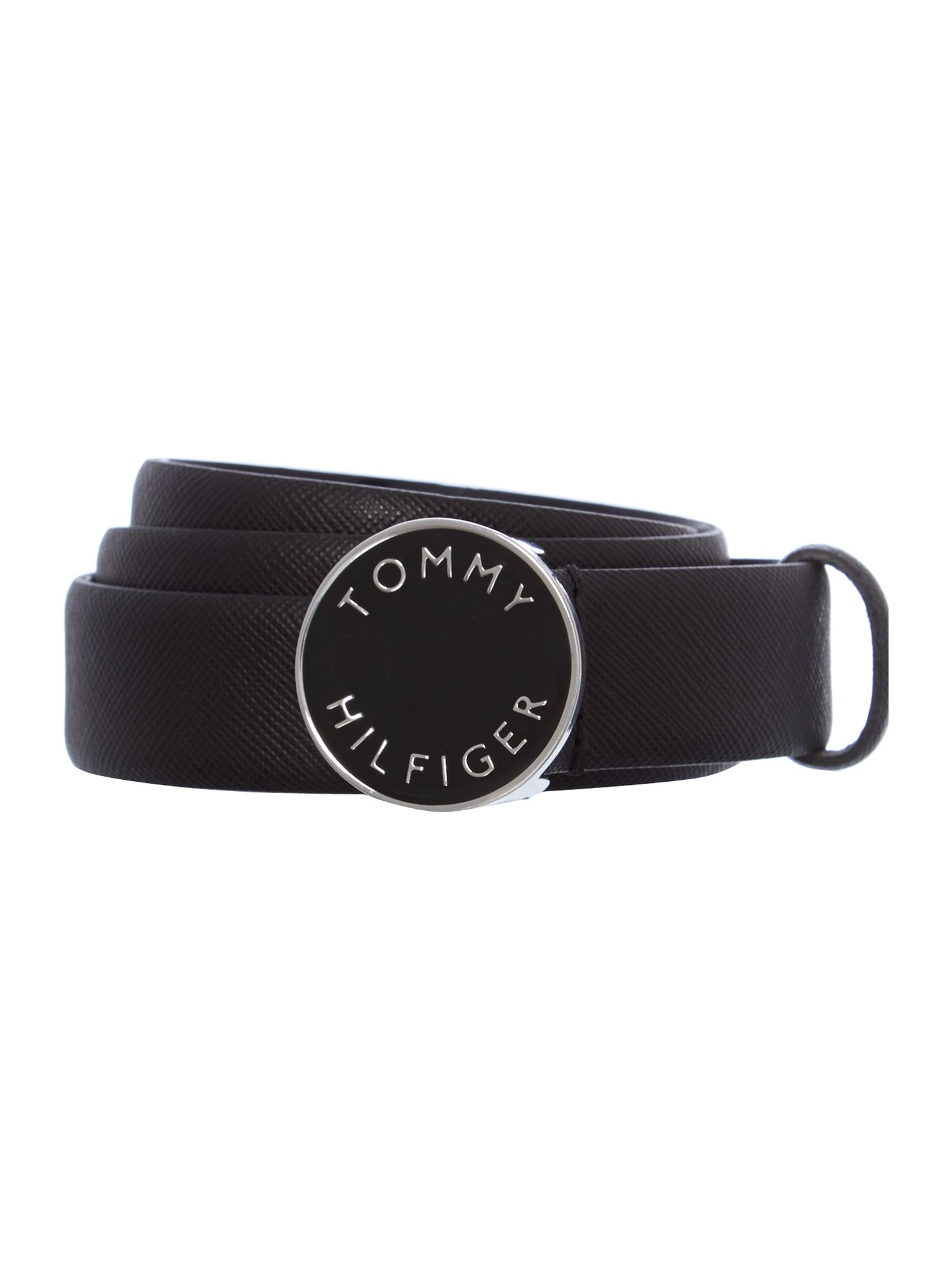 Shelby black logo belt