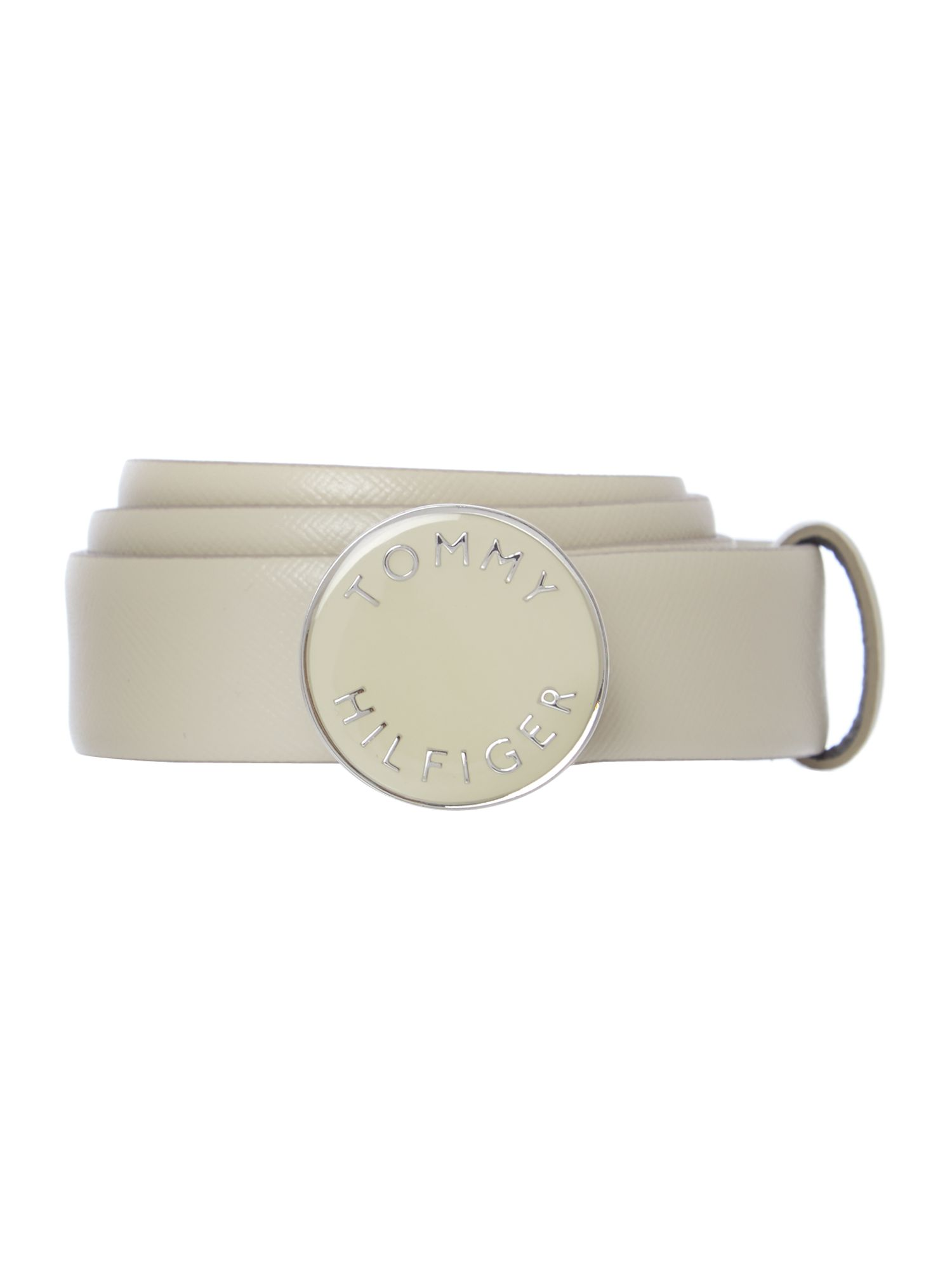 Shelby neutral logo belt