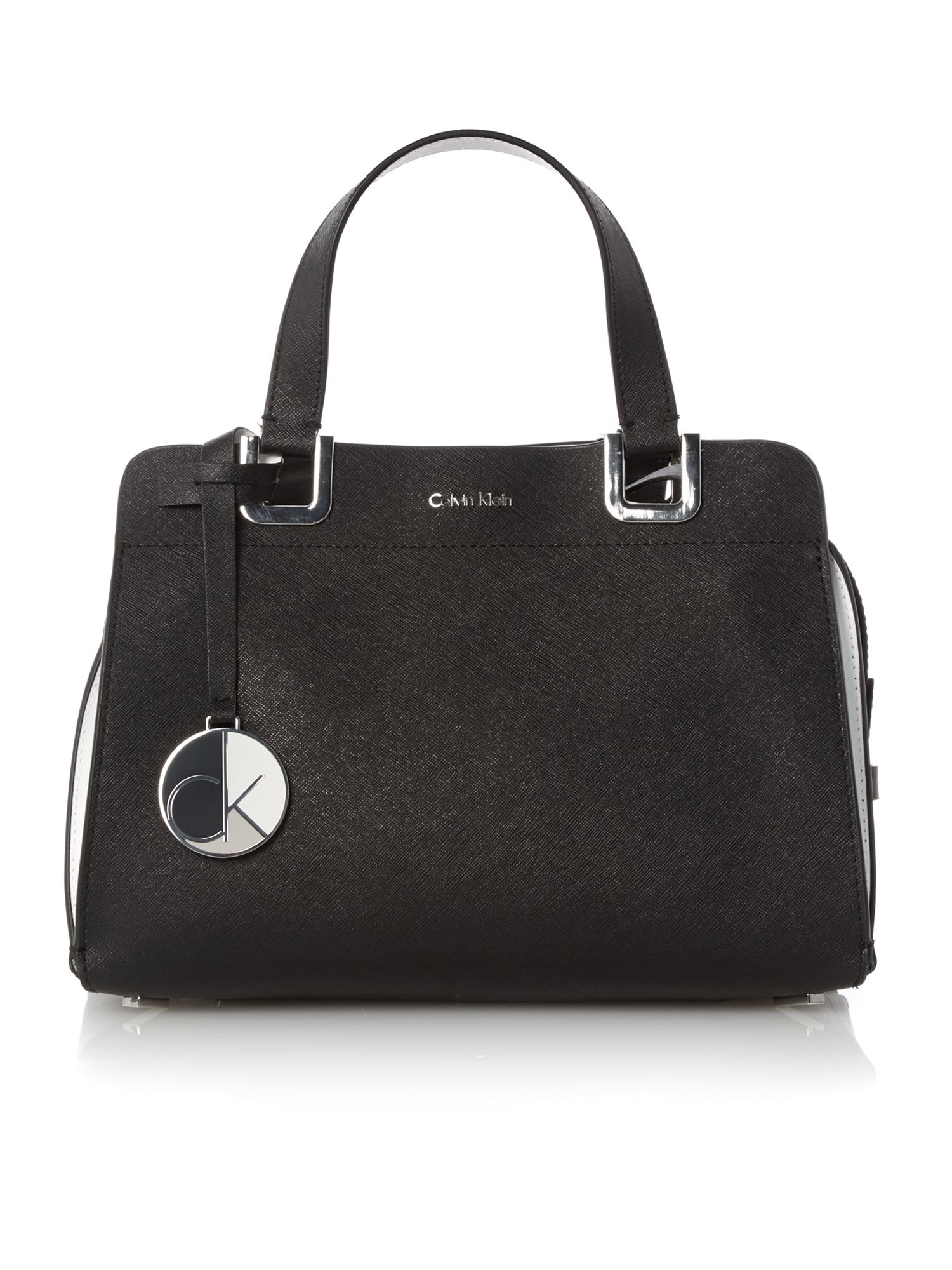 Sofie black bowling bag