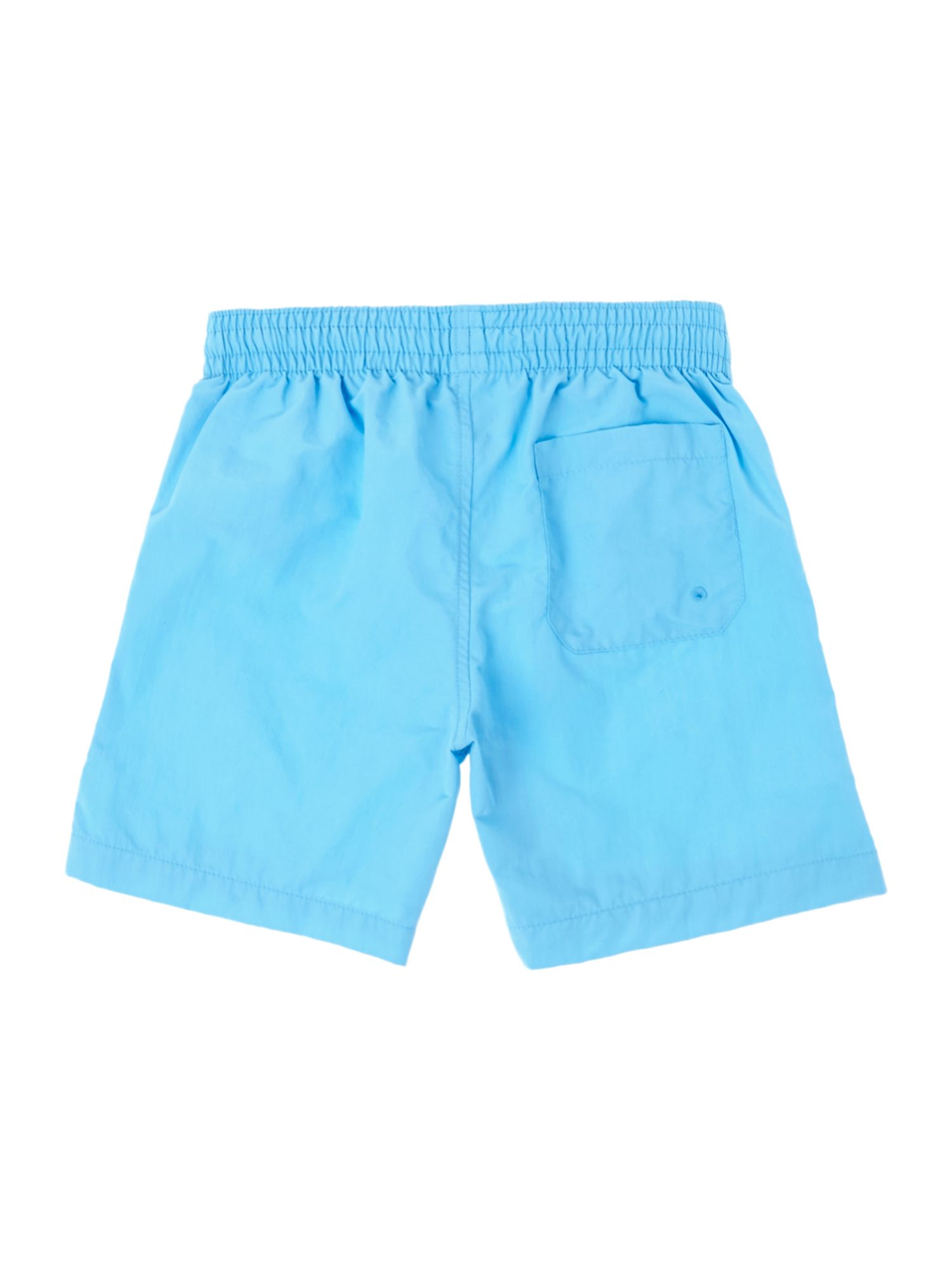 Boys hidden logo swim shorts