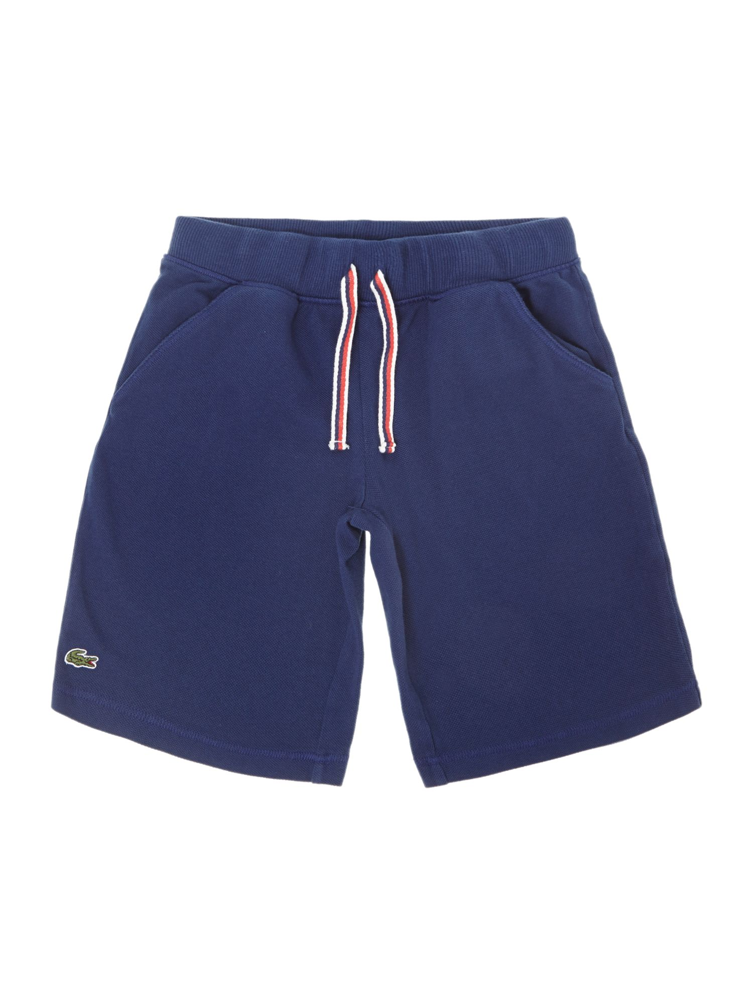 Boys small croc pique short