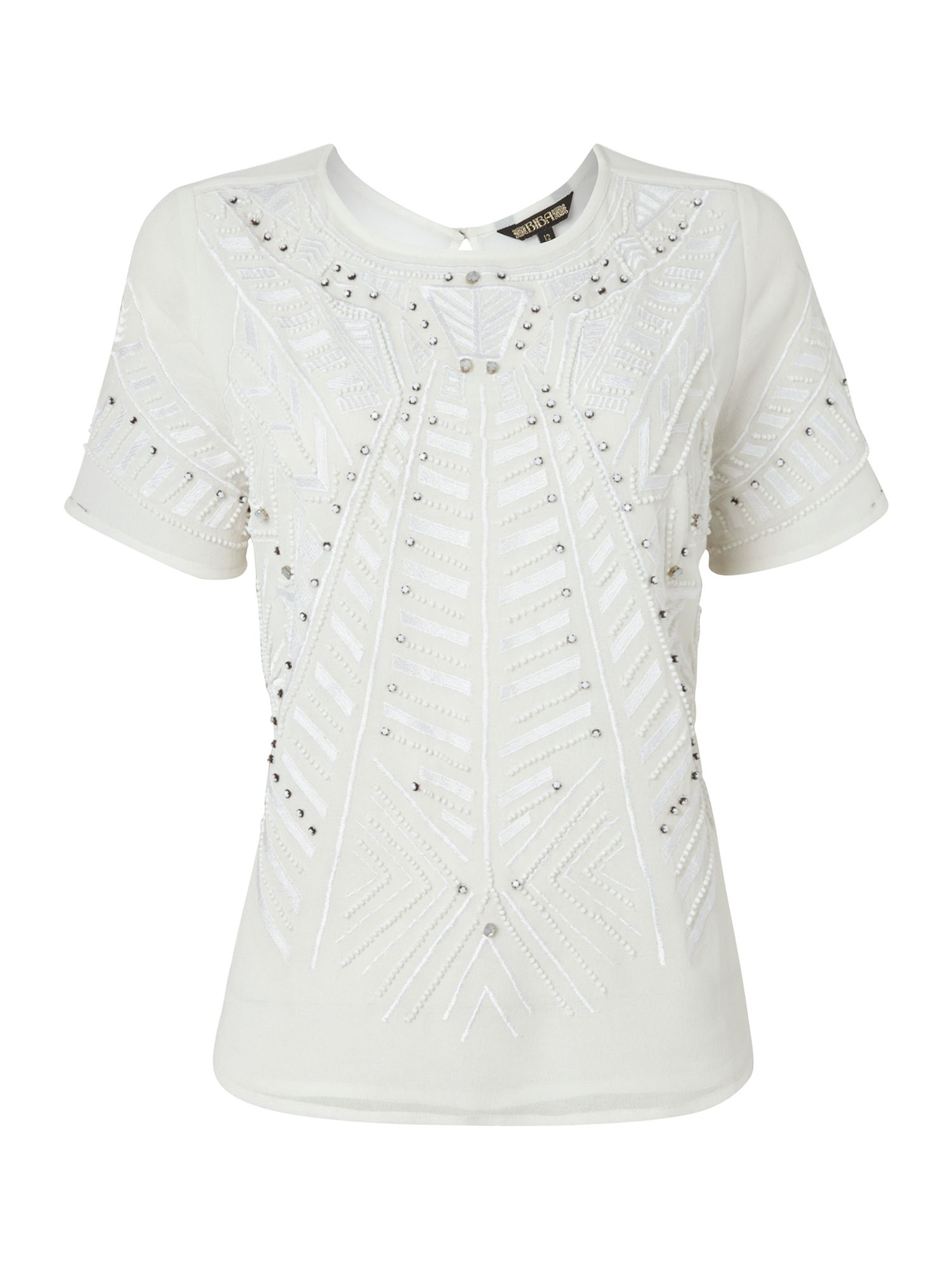 Harper beaded and embroidered Blouse