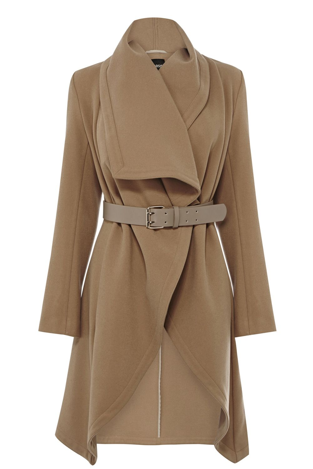 Long drape coat