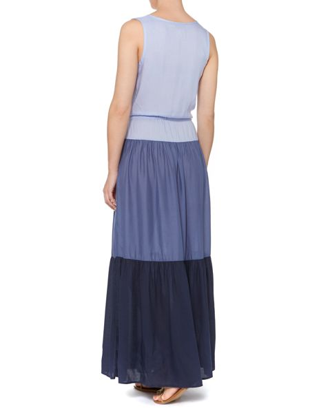 Linea Weekend Tiered maxi dress