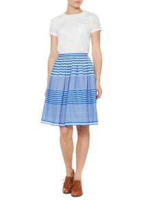 Nelly stripe skirt