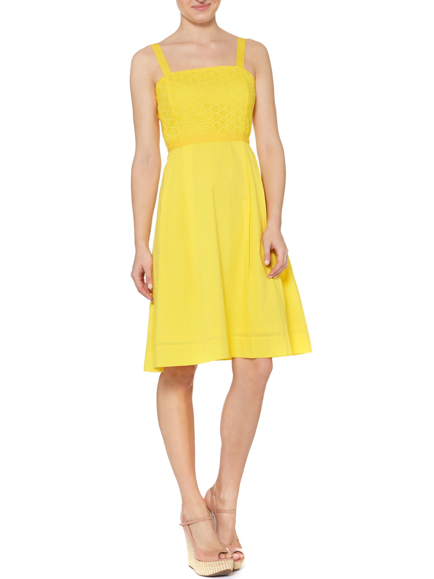 Nelly broderie dress