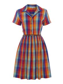 Check shirtdress