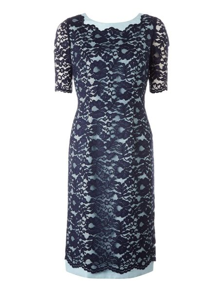 Jacques Vert Monique lace shift dress