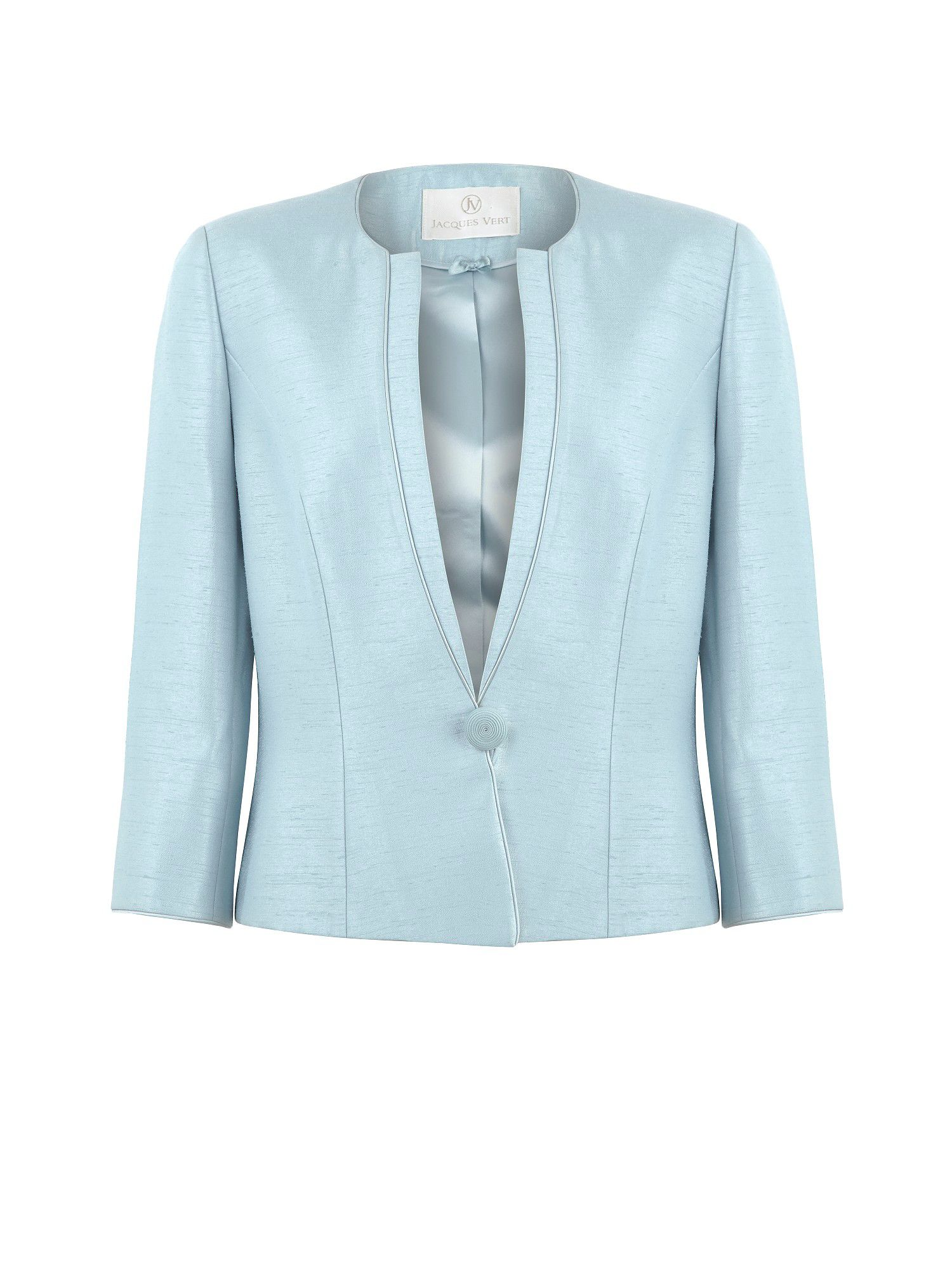 Misty blue occasion jacket
