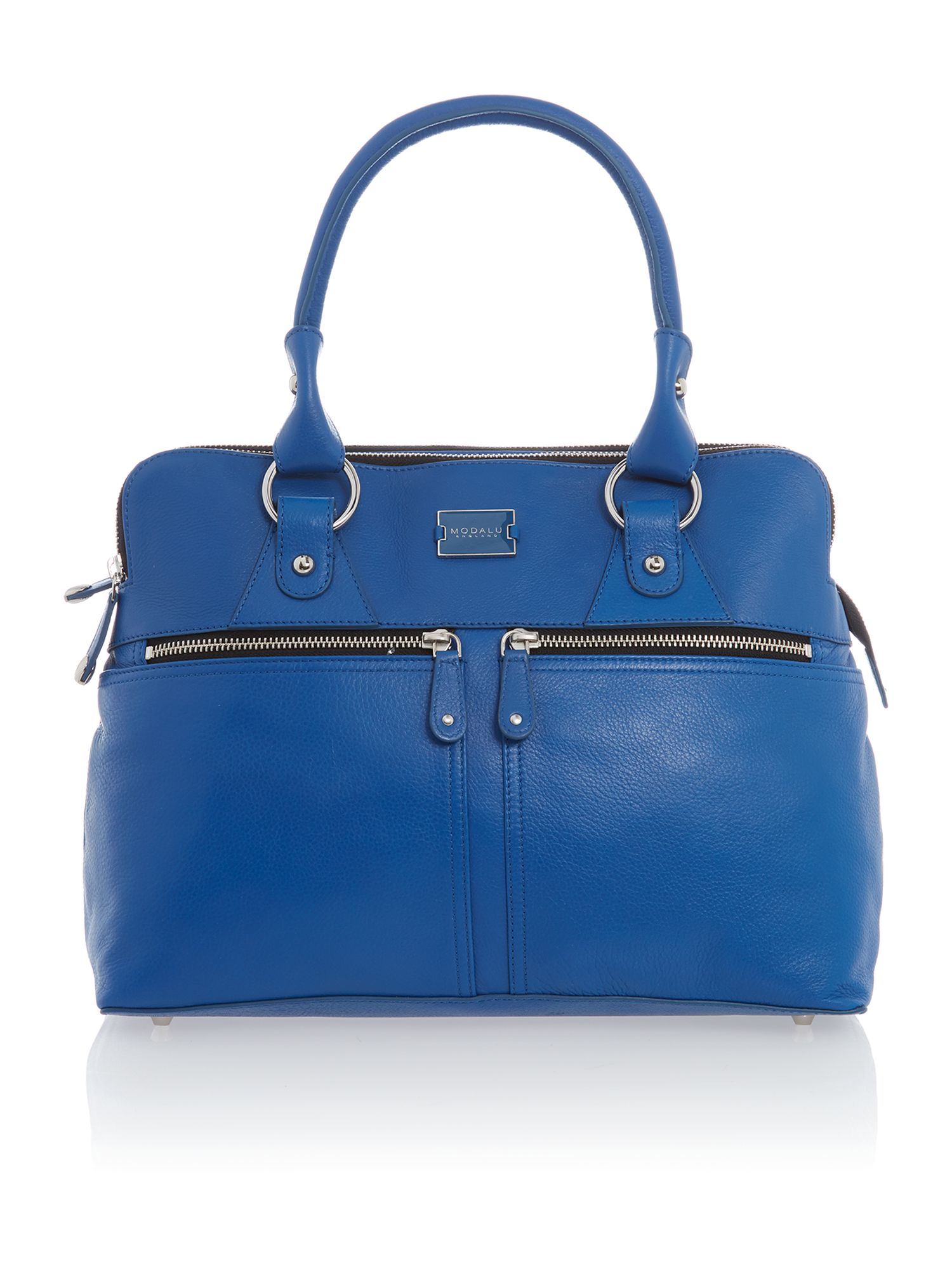 Pippa blue medium tote bag