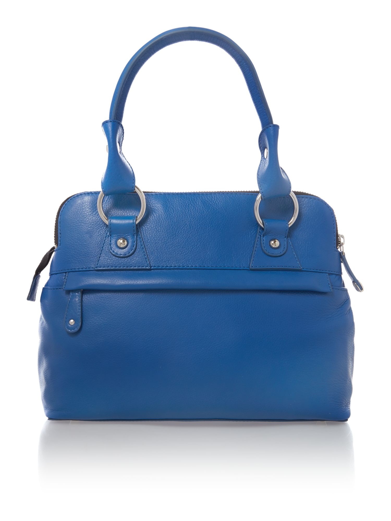 Pippa blue mini tote bag