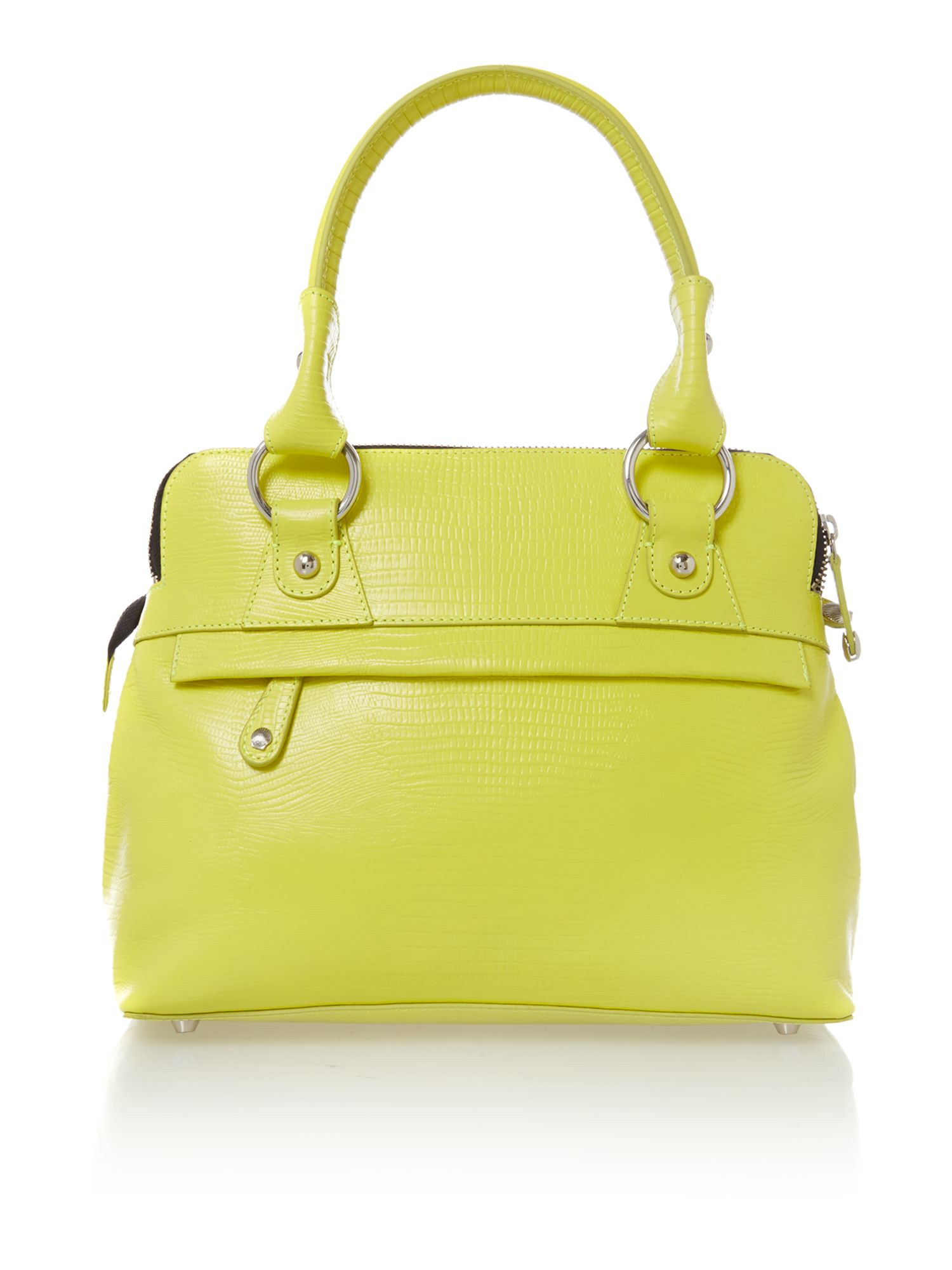 Pippa yellow mini tote bag