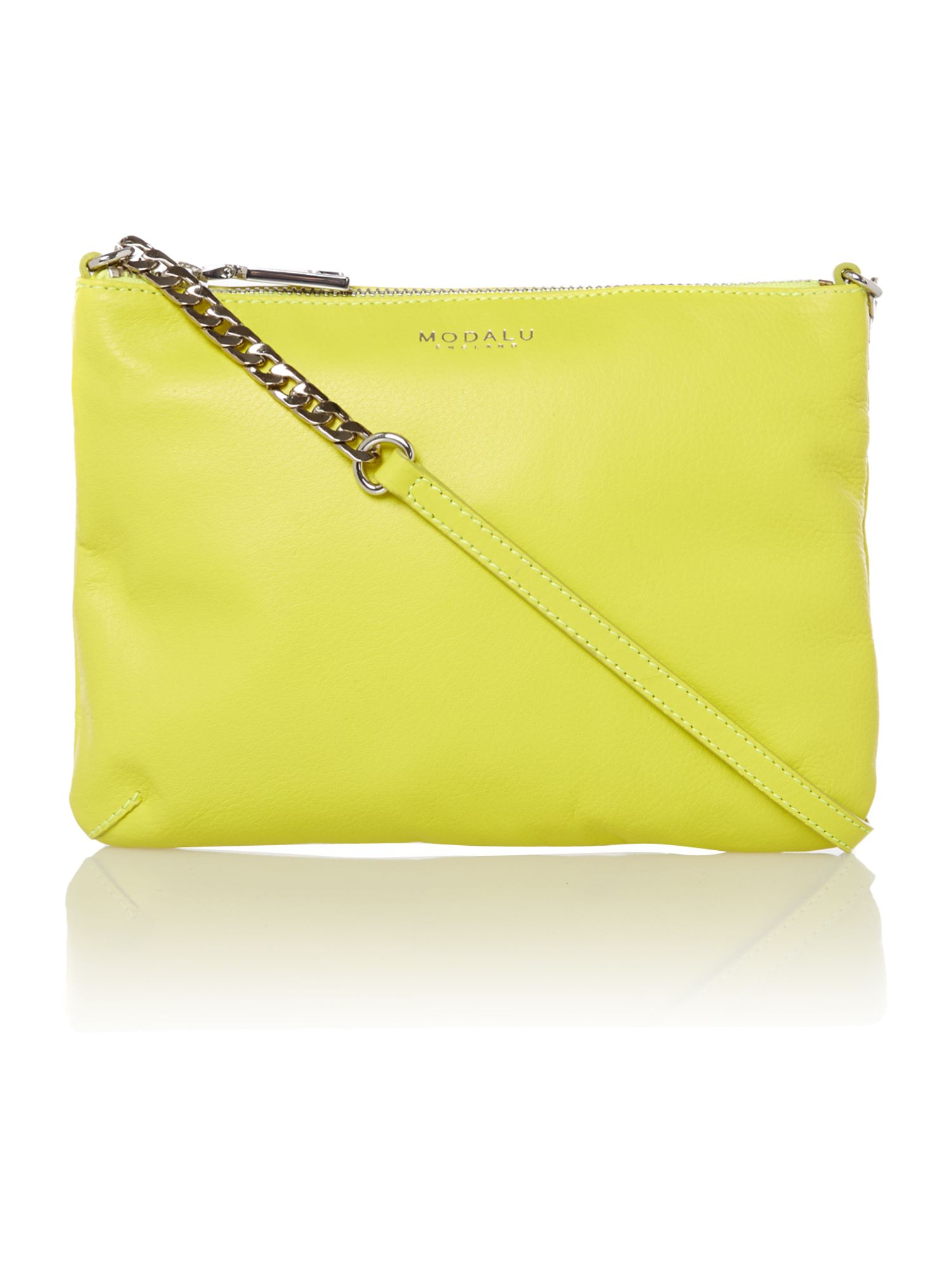 Twiggy small yellow cross body bag