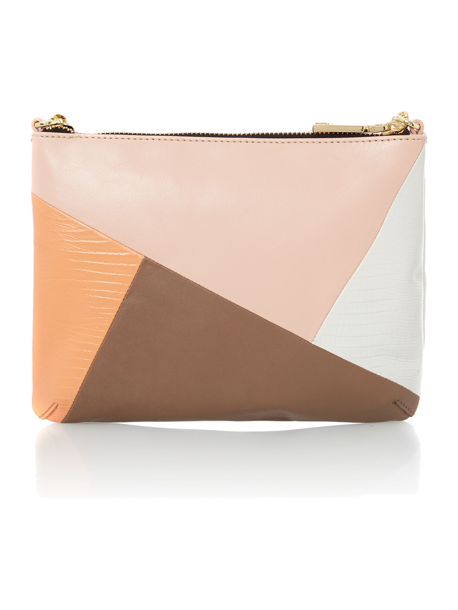 Twiggy multi coloured small cross body bag