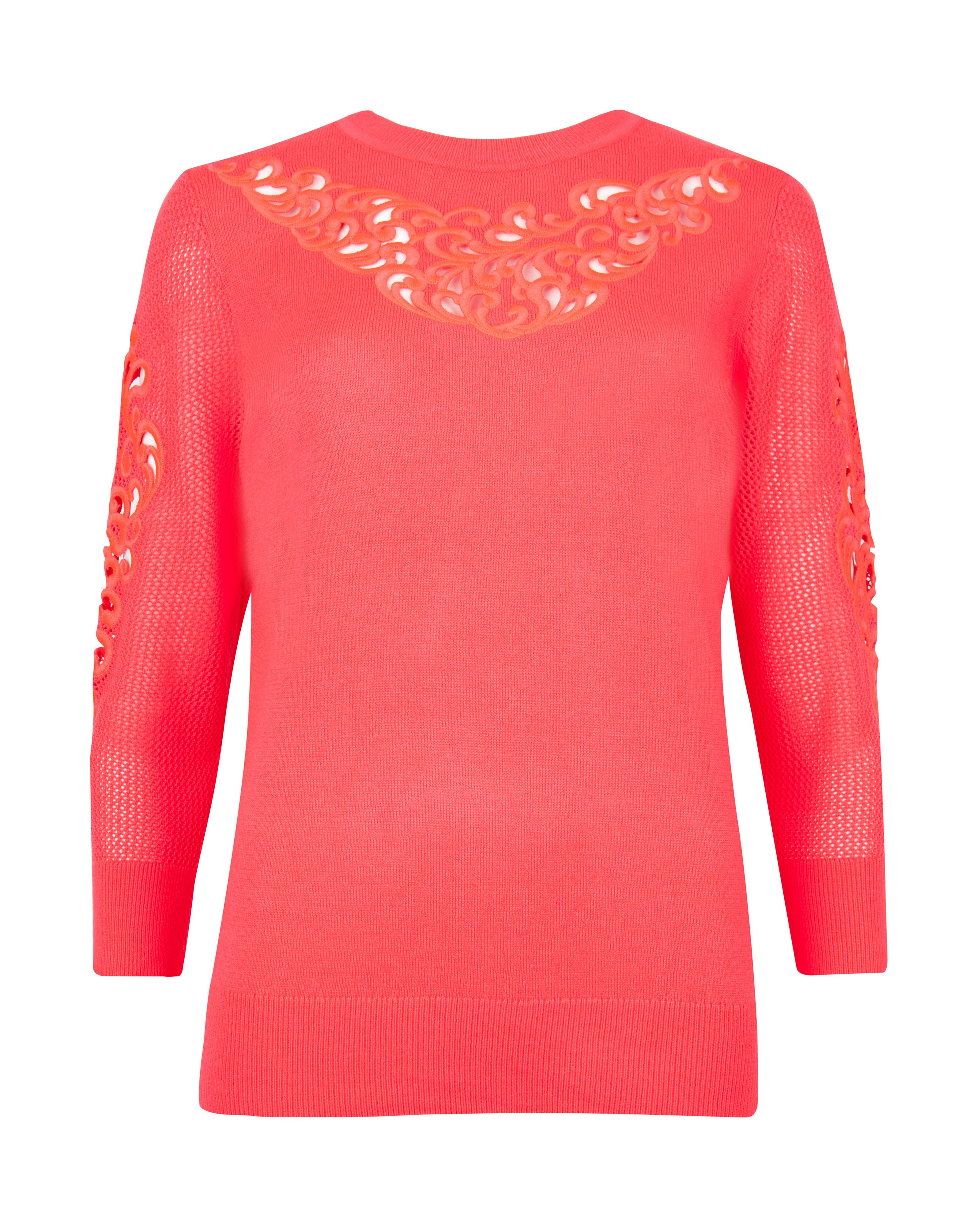 Talula embroidered jumper
