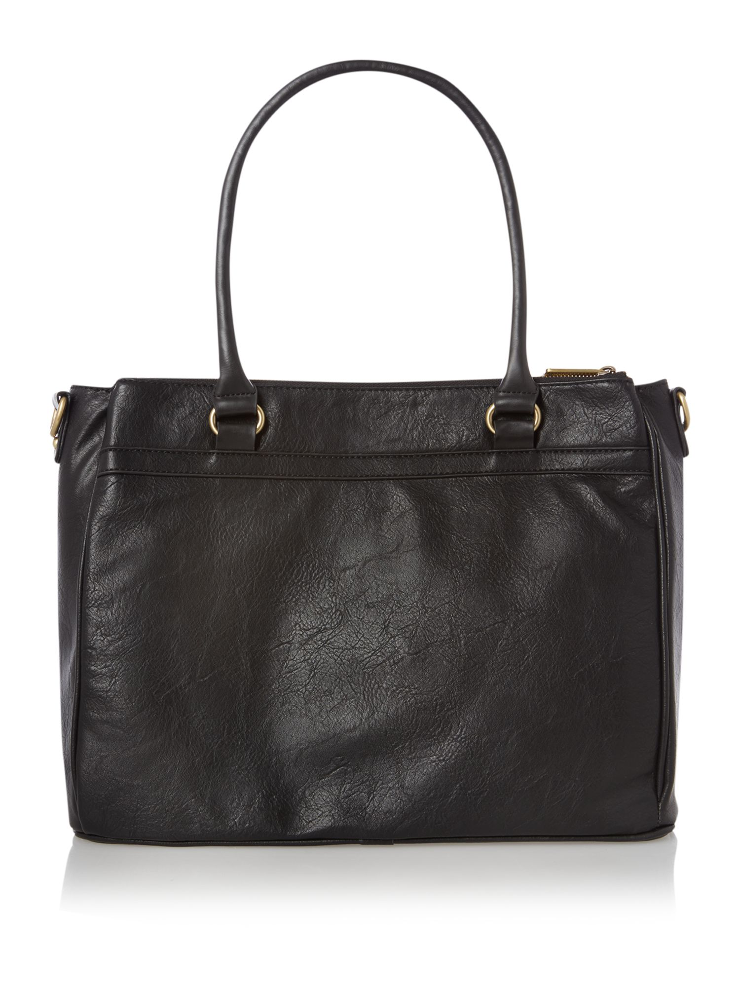 Sammy black tote bag