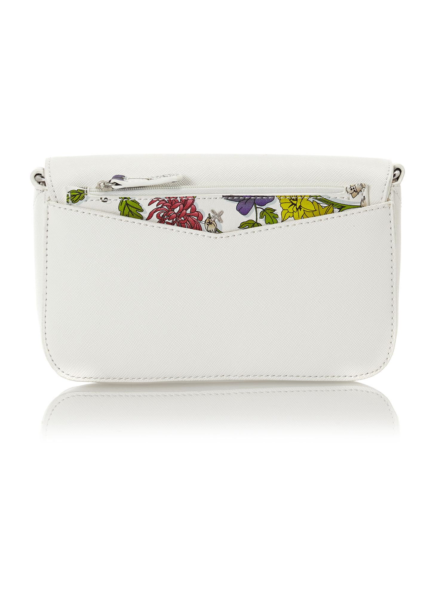 Perry white cross body bag