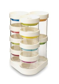 Spice Store carousel set 10 piece white