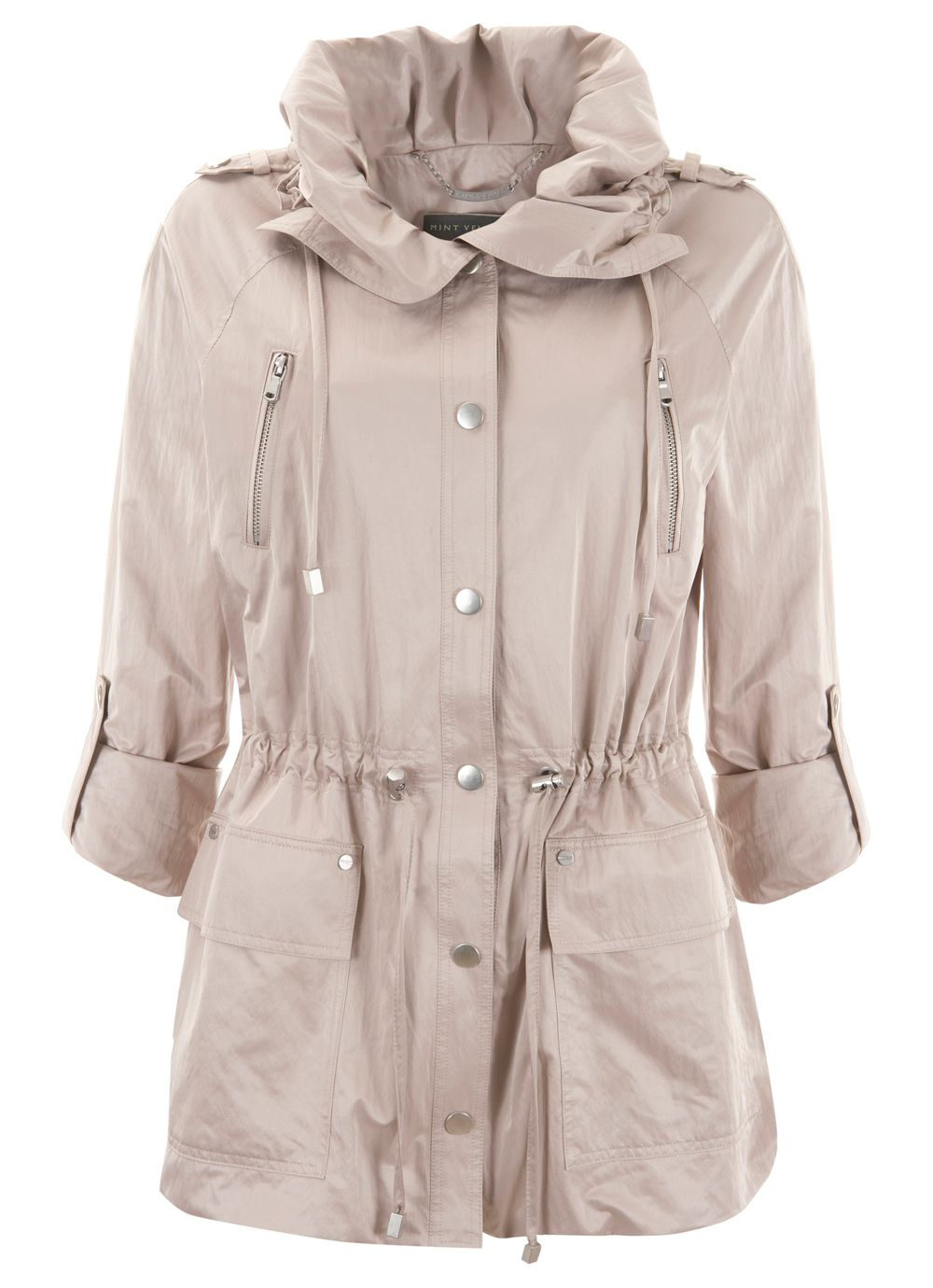 Putty Short Parka