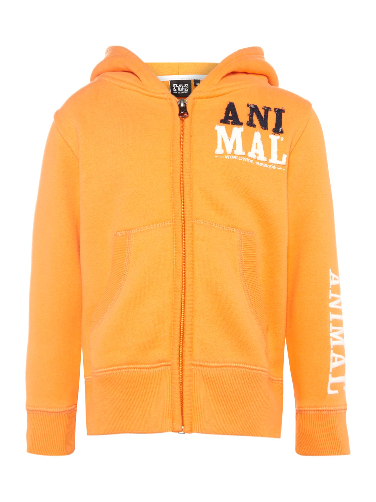 Boy`s sarion full zip hooded top
