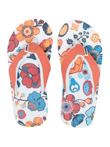 Girl`s swish flip flops