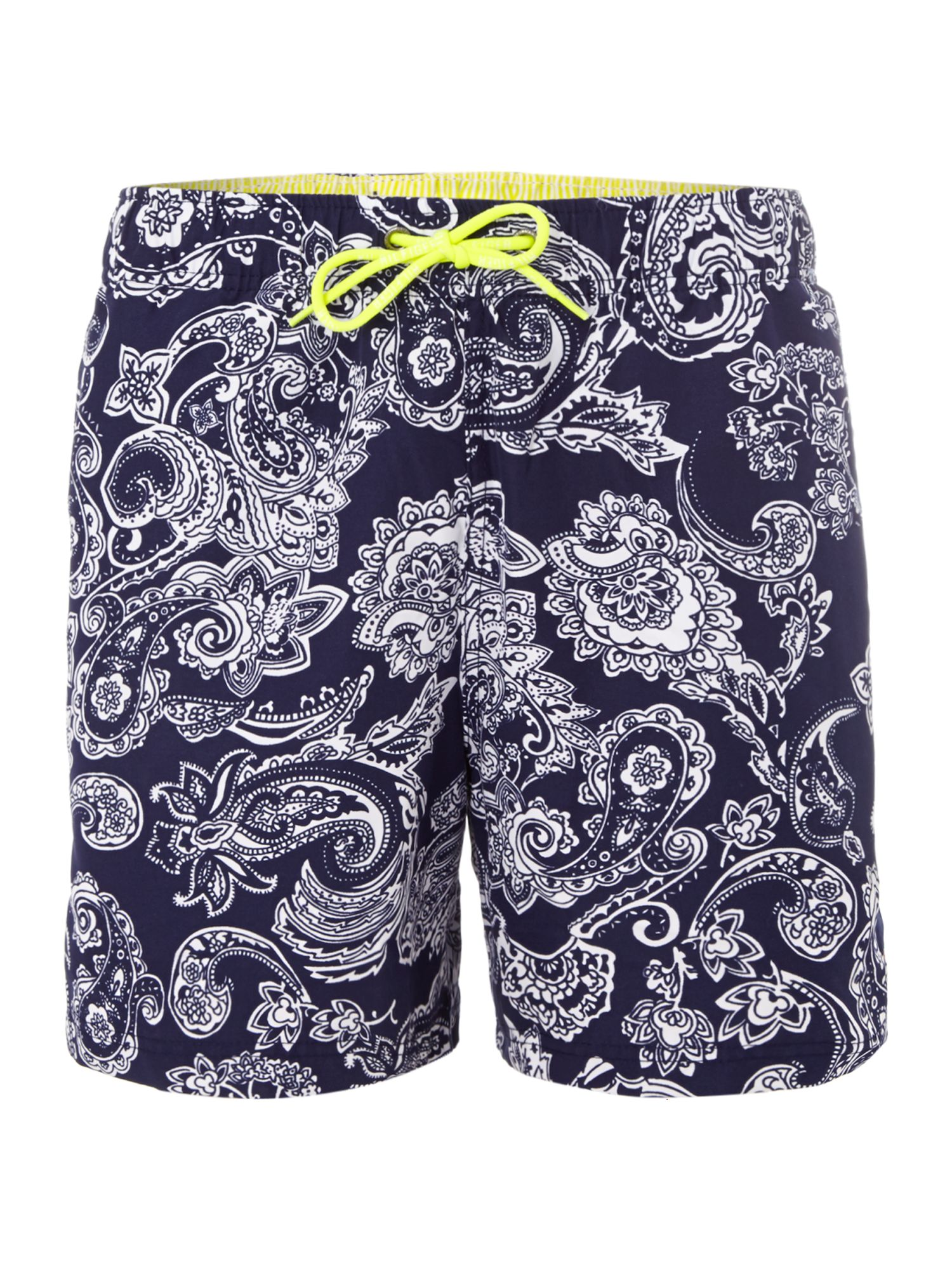 Paisley all over print swim short