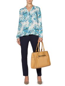 Stacey soft printed floral blouse