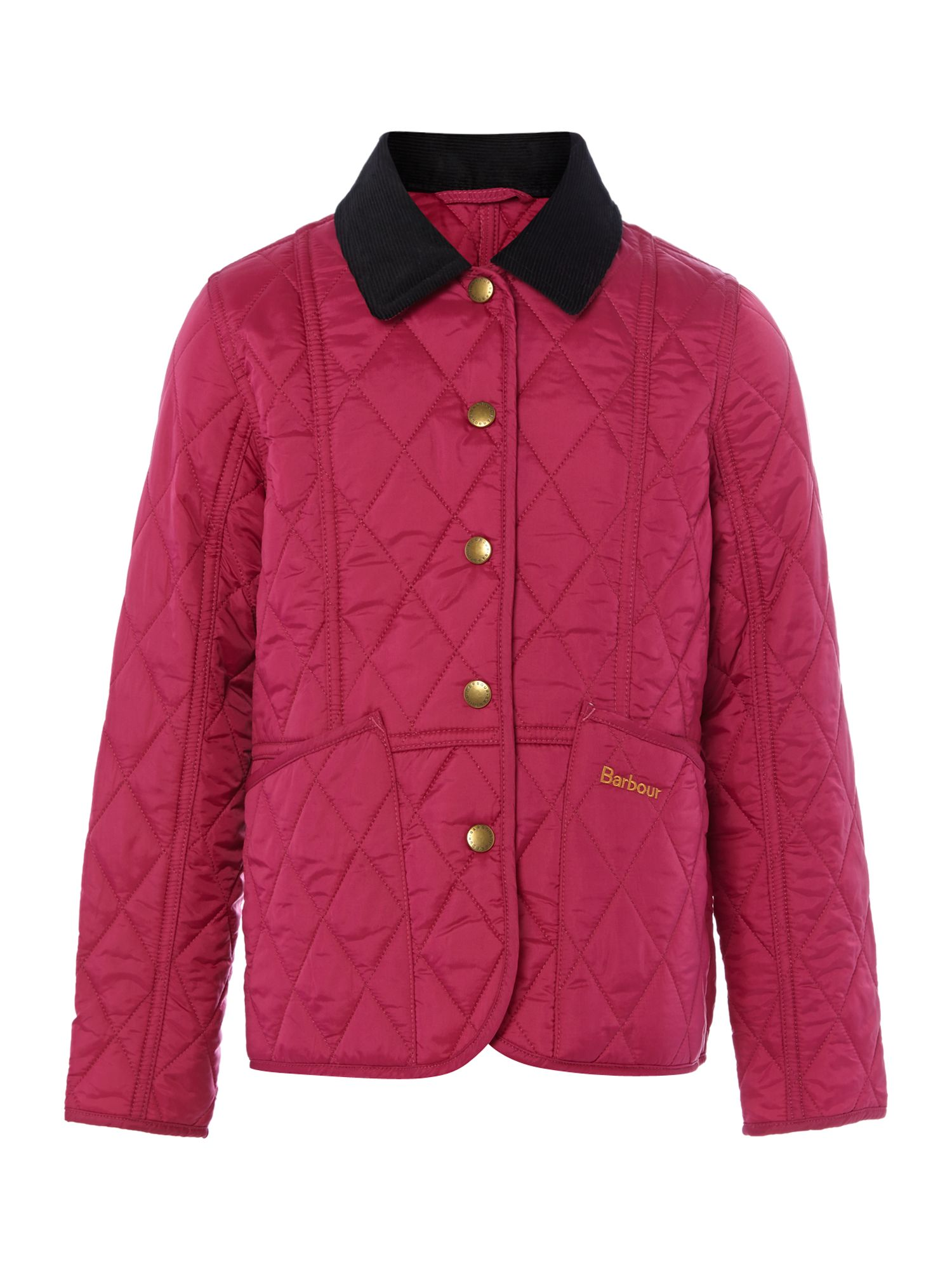 Barbour Girls quilted Summer Liddesdale jacket