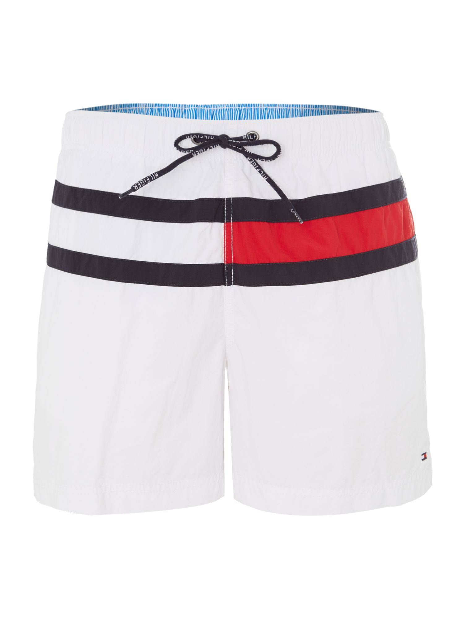 Large logo swim short