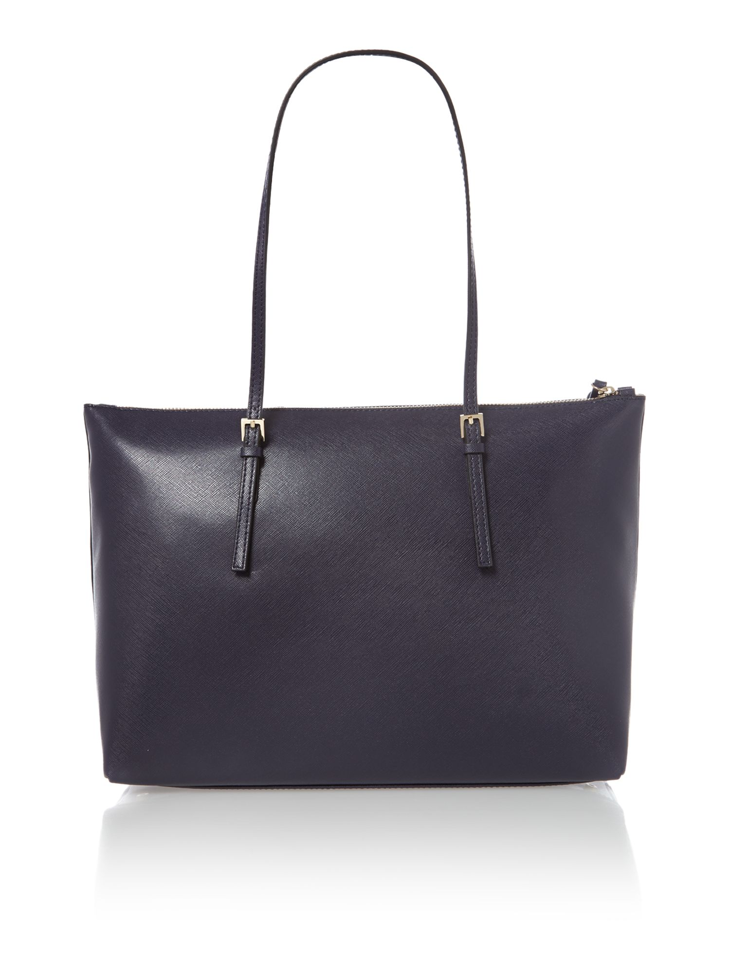 Betty navy tote bag