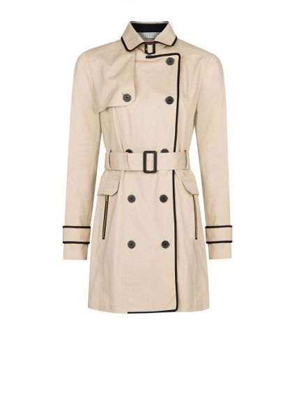Mango Trim trench coat