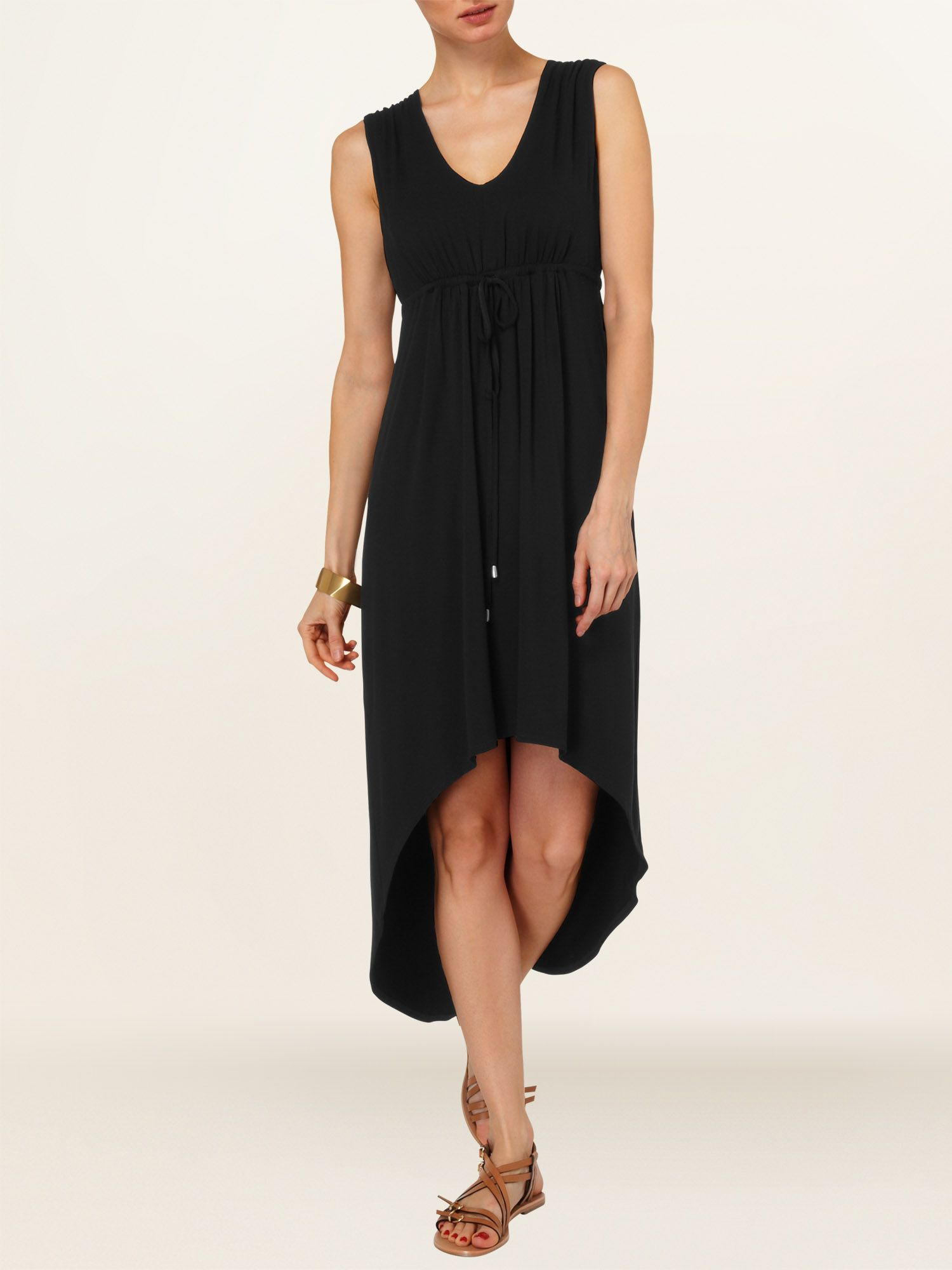 Elsie ellipse hem dress