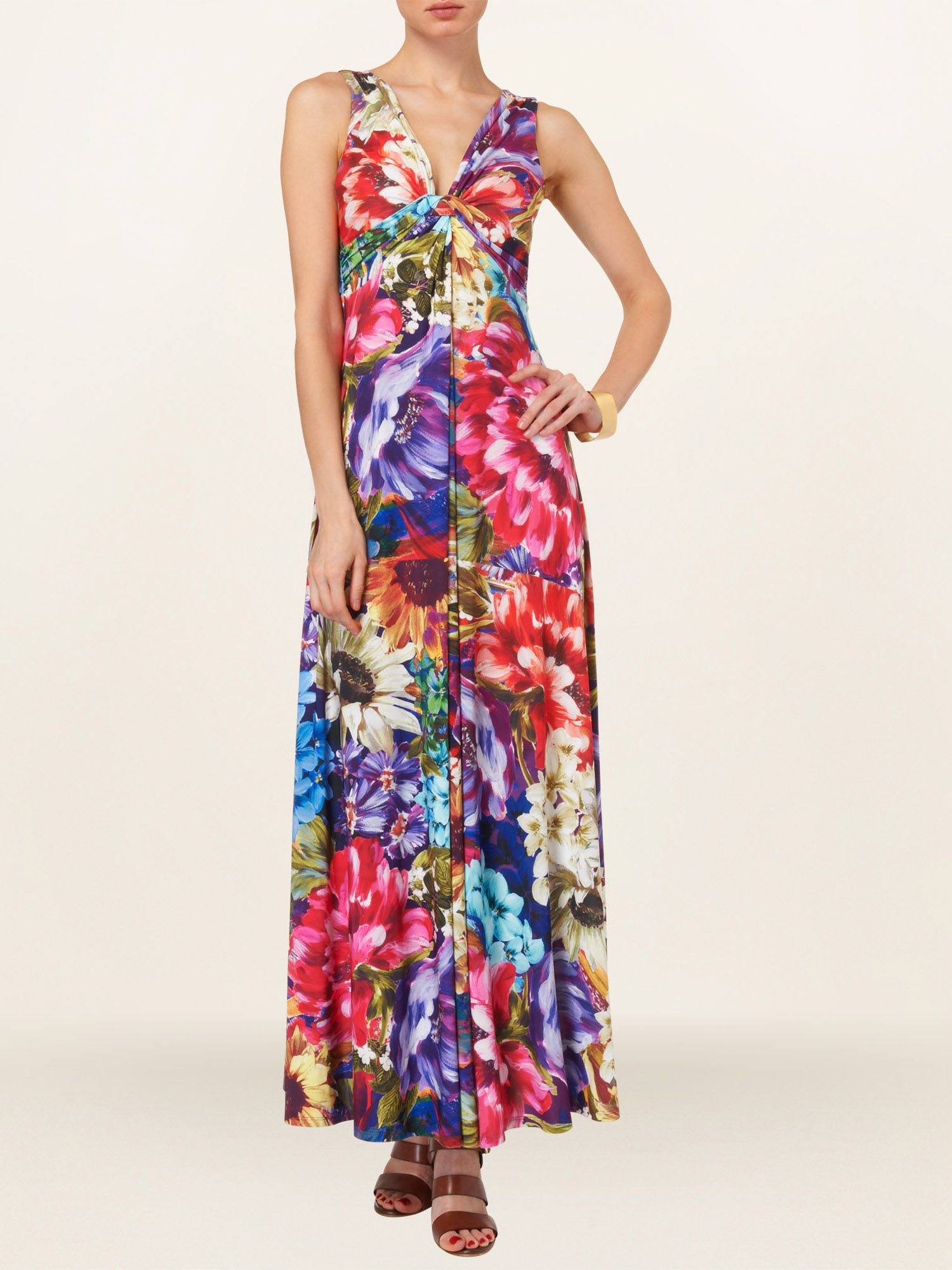 Martinique maxi dress