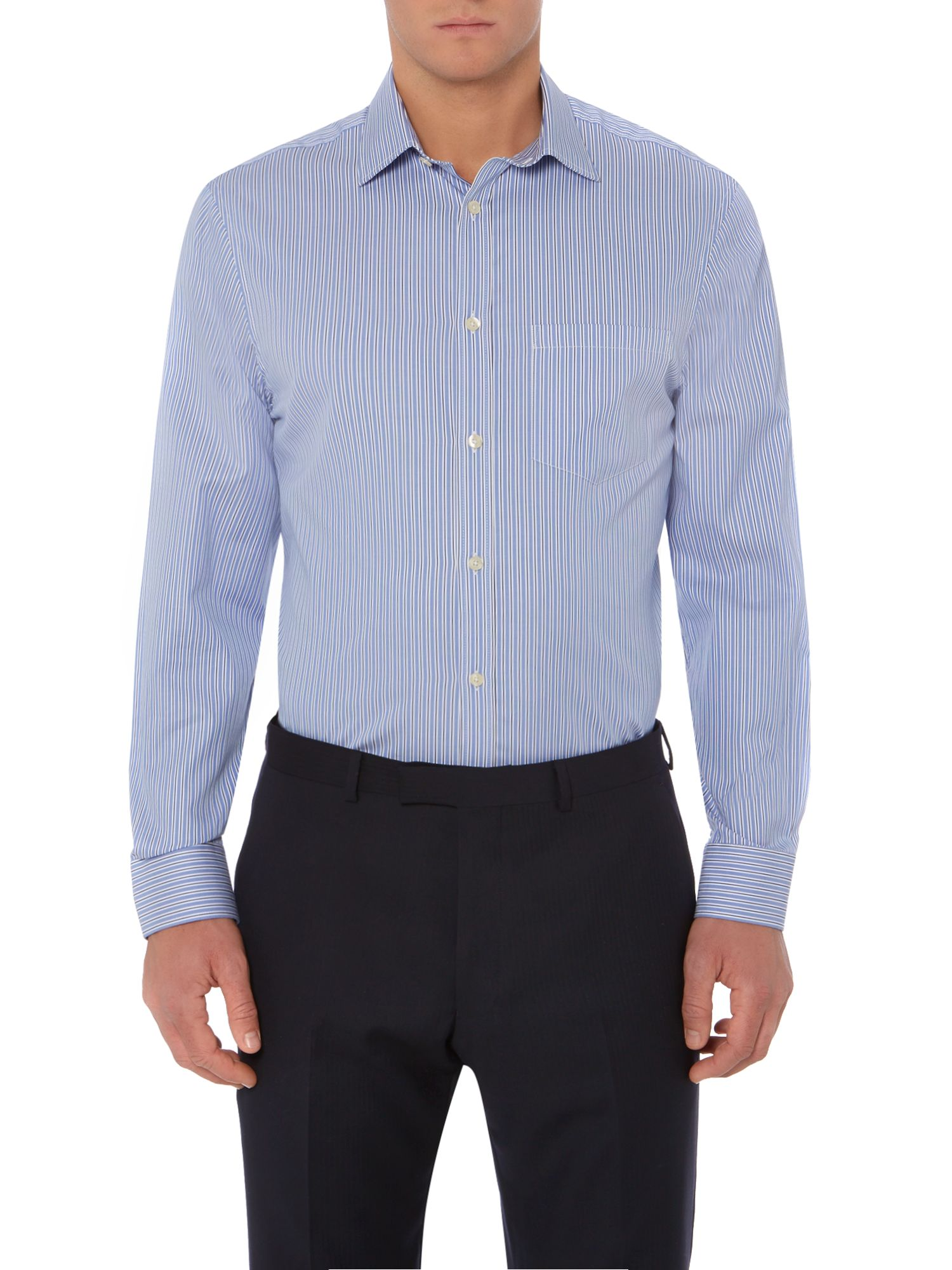 Columbus Oxford Stripe Shirt