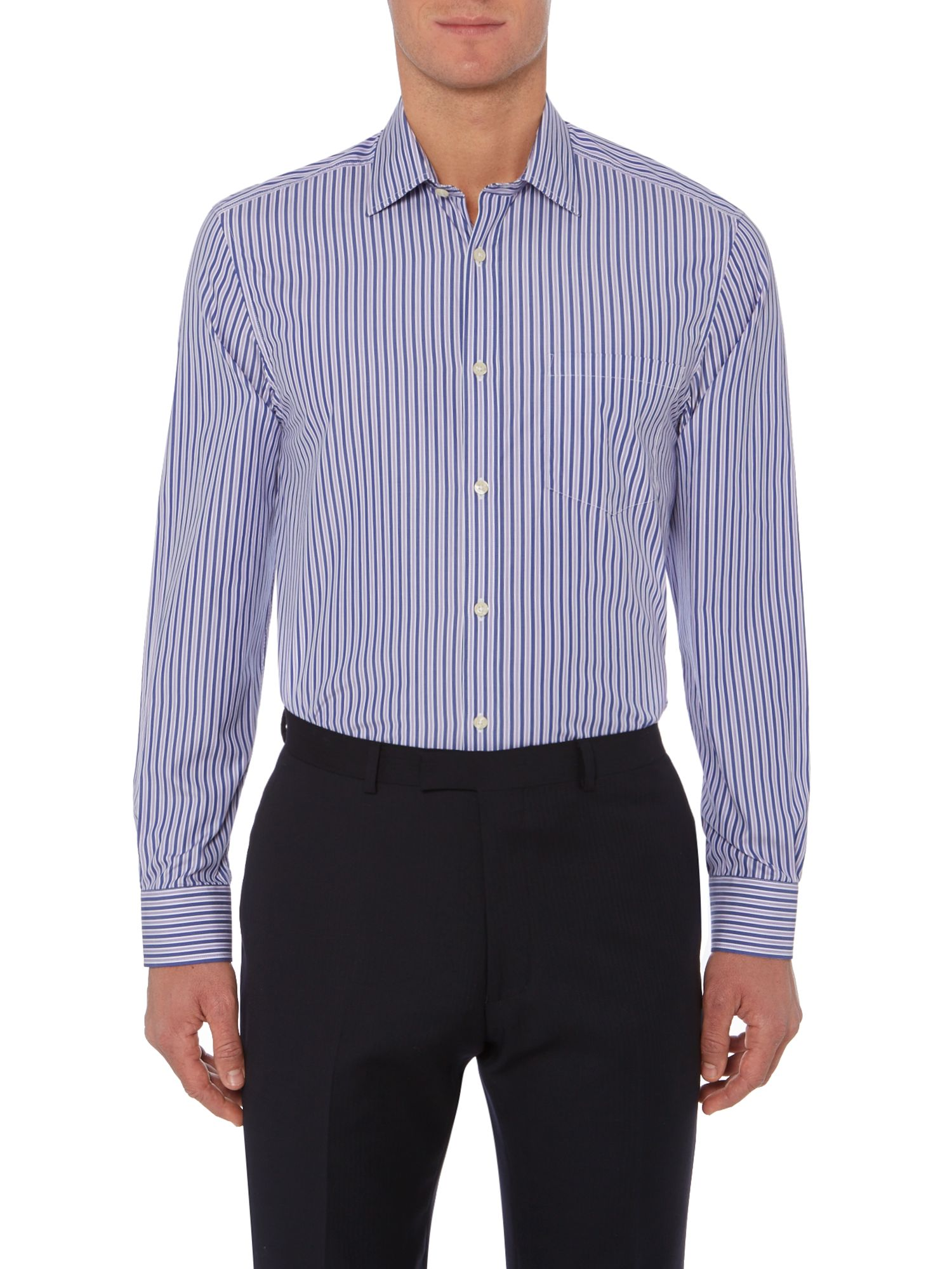 Tremont bold stripe shirt single cuff