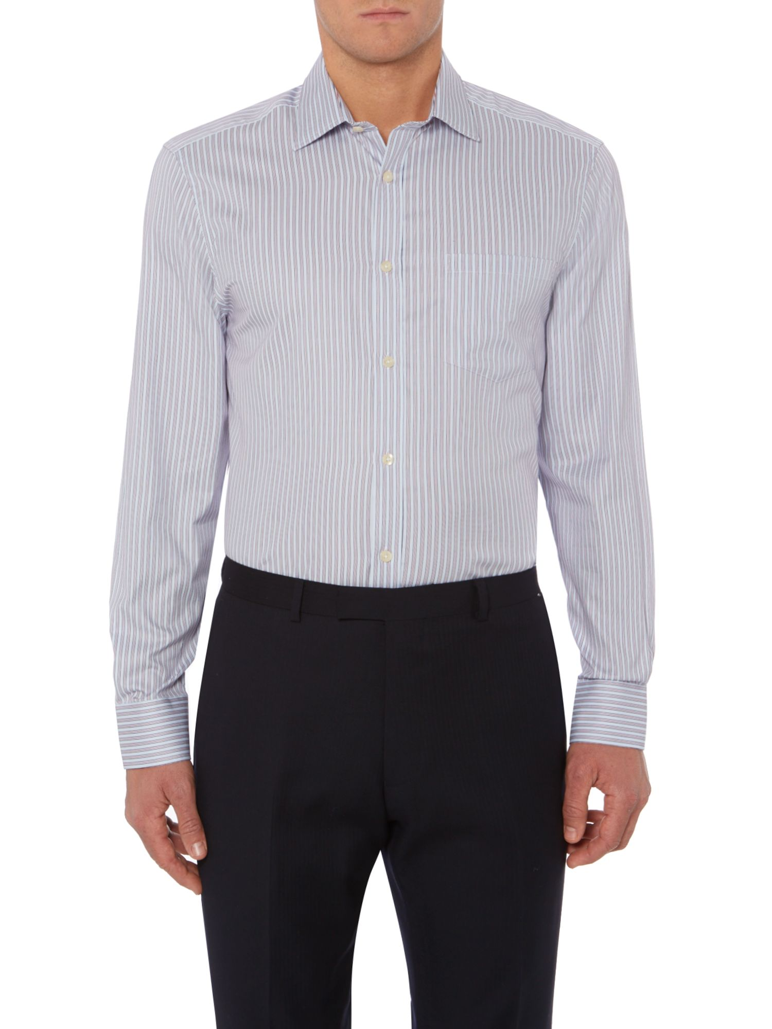 Newbury fine stripe shirt