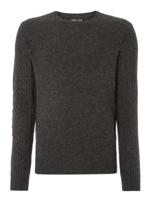 Sherry cable sleeve jumper