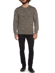 Dean Multicoloured Crew Neck Jumper