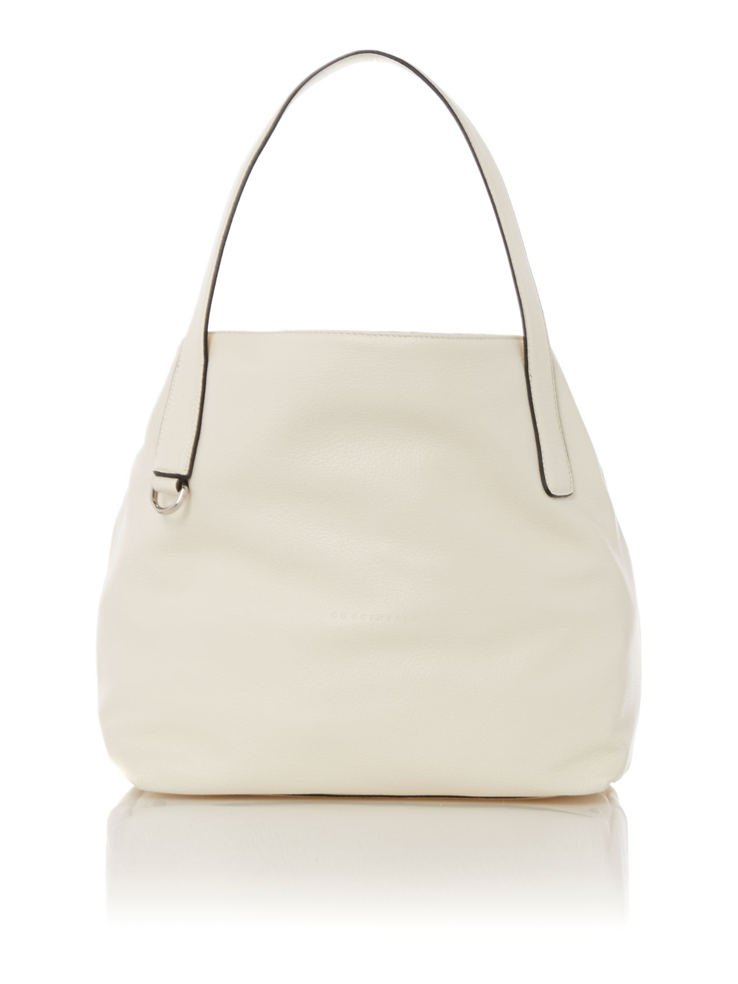 Mila cream tote bag